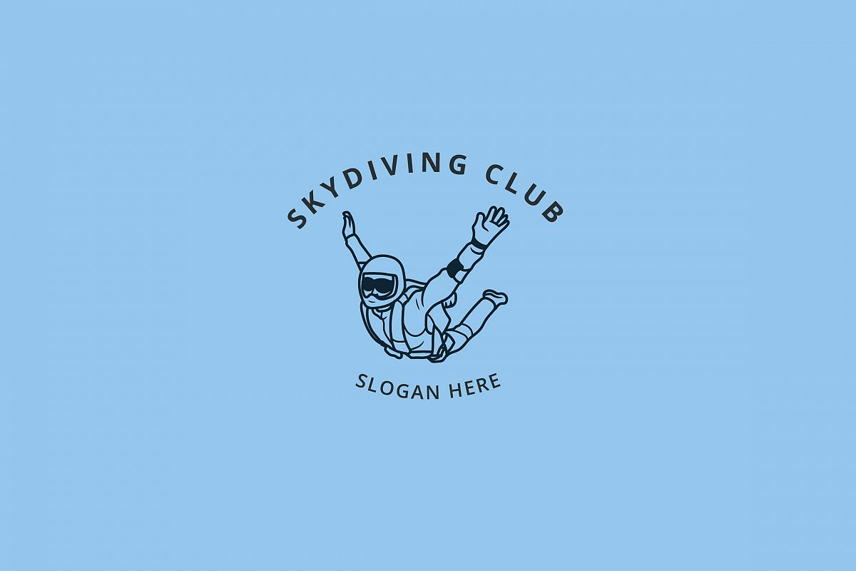 SKYDIVING LOGO example image 1