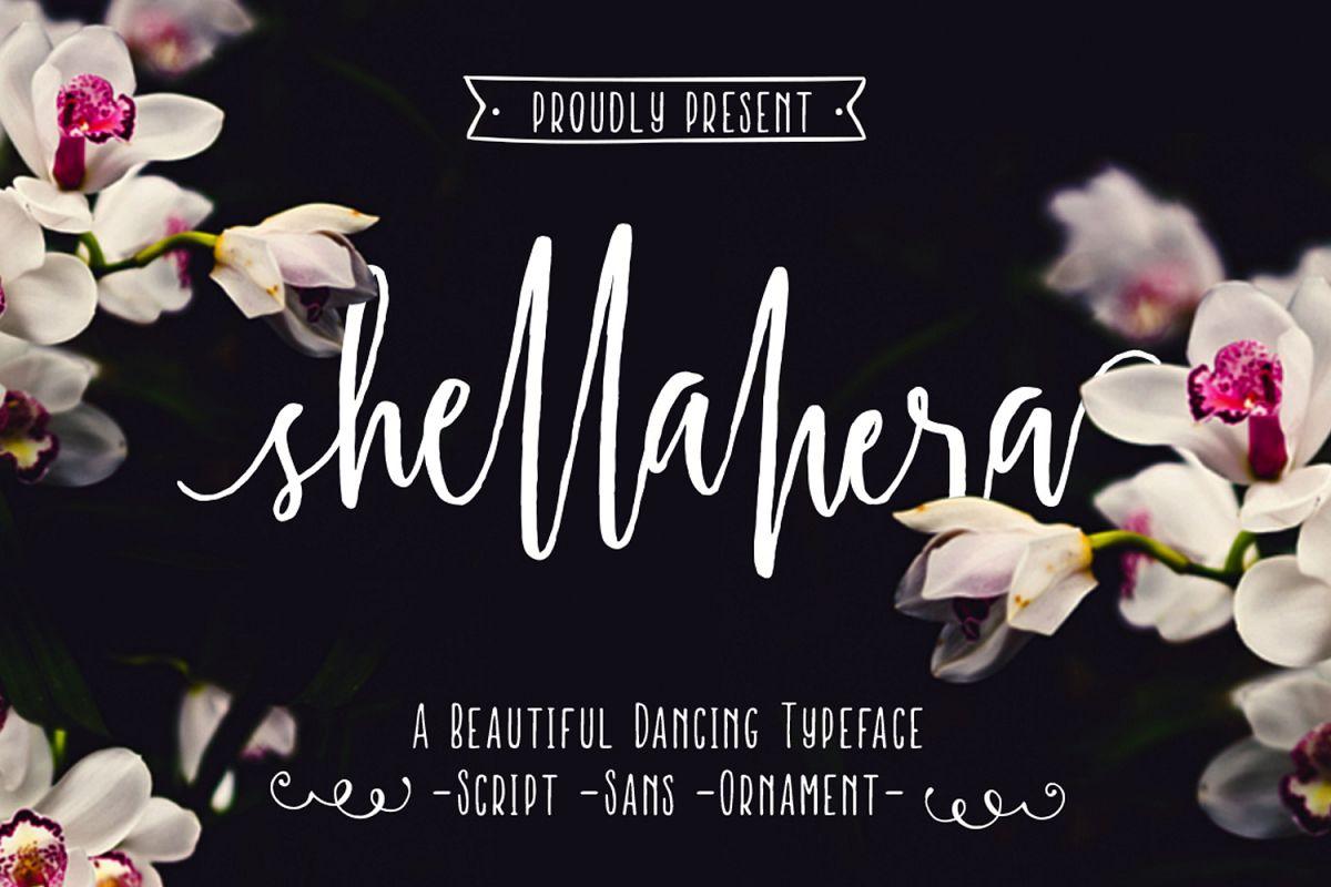 Shellahera Font Bundle example image 1