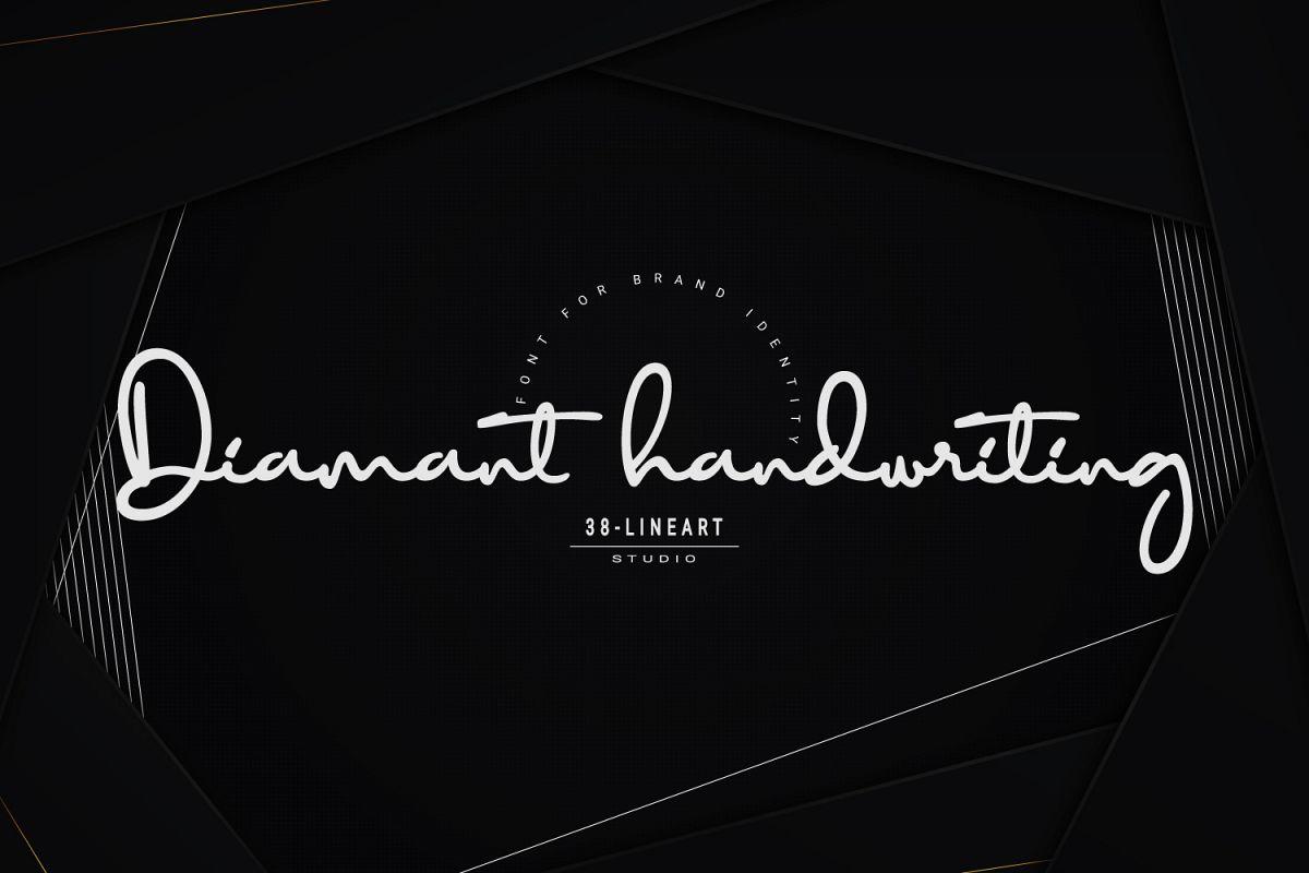 Diamant Handwriting example image 1