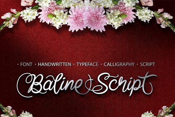 Baline Script example image 1