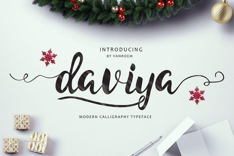Daviya Script example image 1