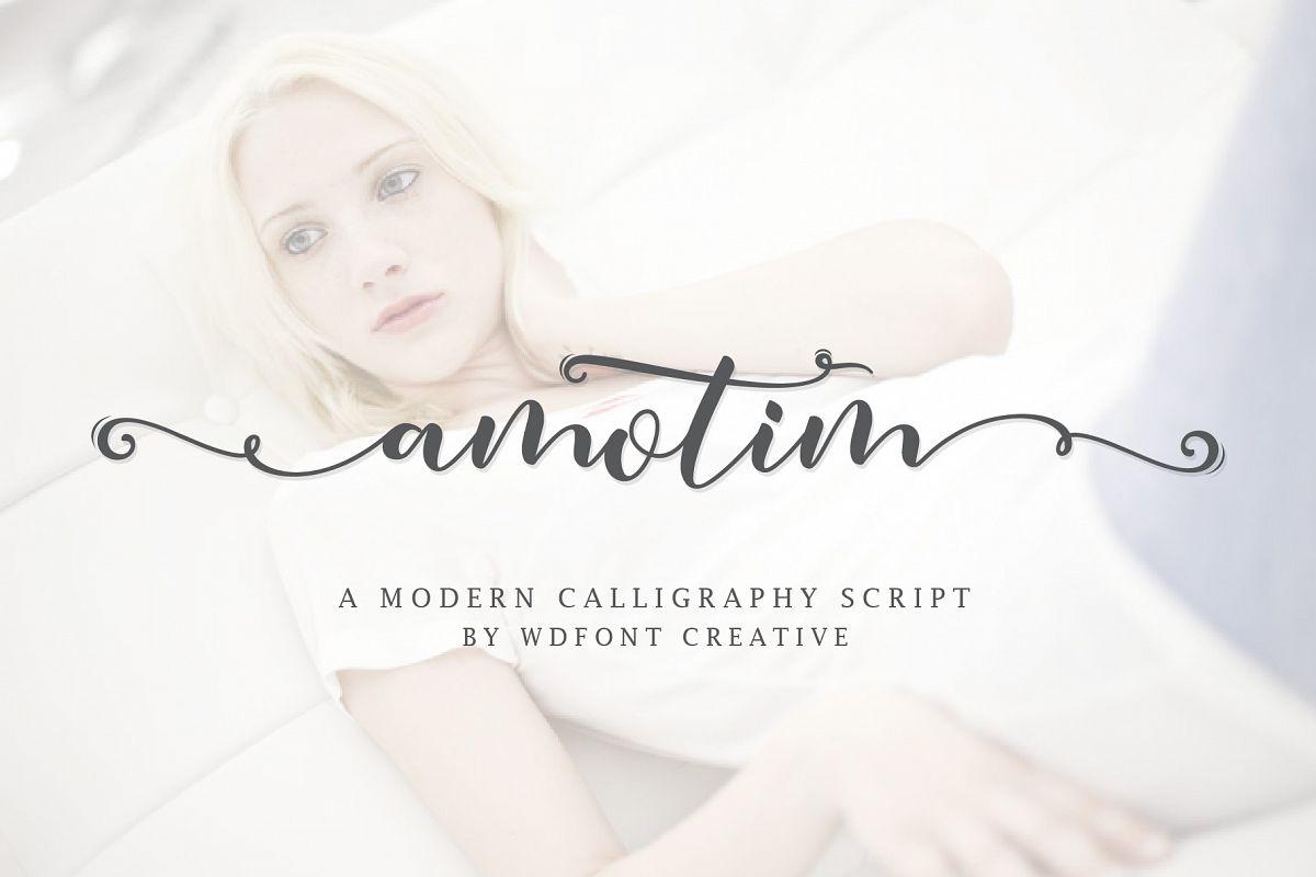 Amotim | New Calligraphy example image 1