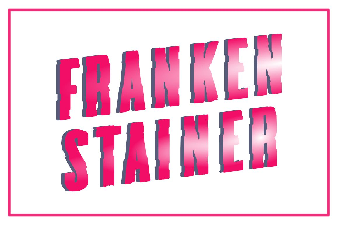 Frankenstainer Family Font example image 1