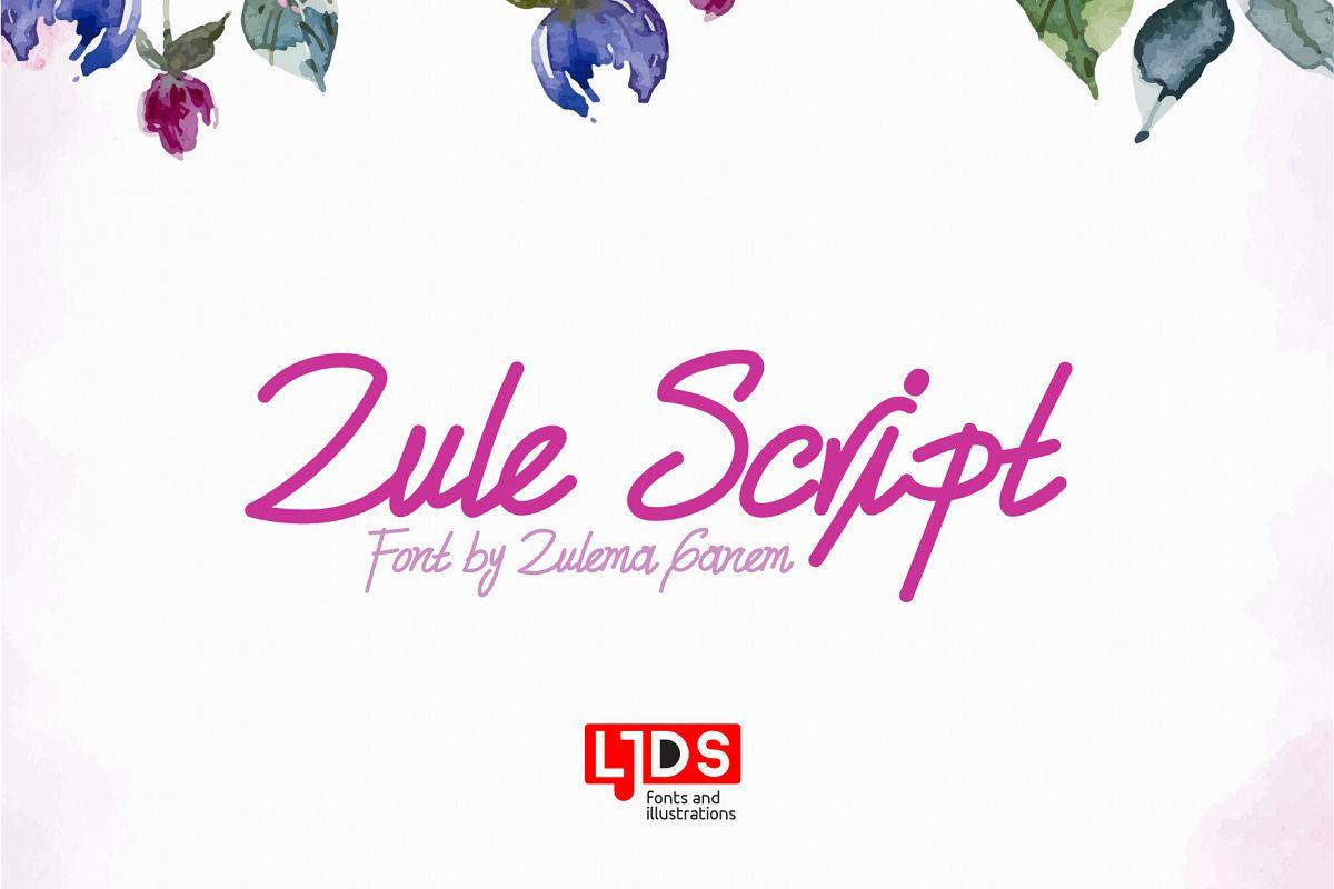 Zule Script example image 1