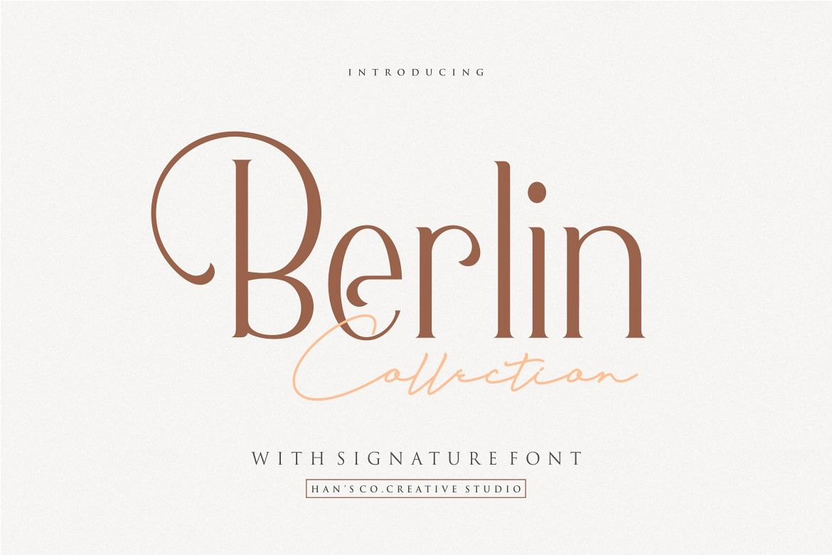 Berlin Collection example image 1