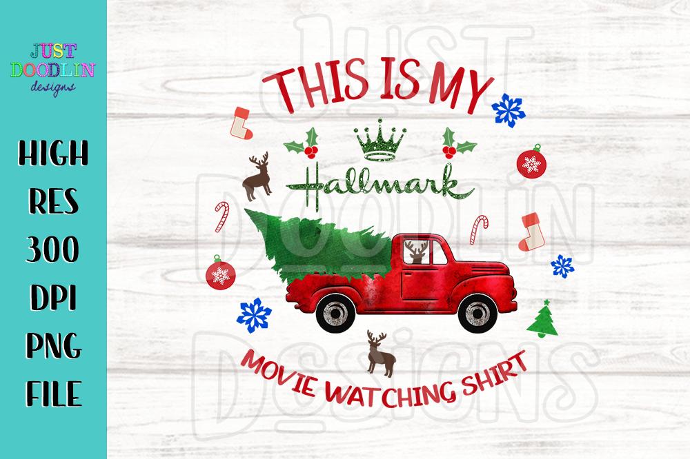 Hallmark Christmas Shirt Svg.Hallmark Movie Watching Shirt Png