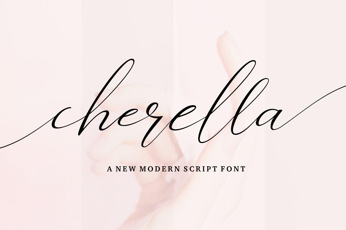 Cherella Script example image 1