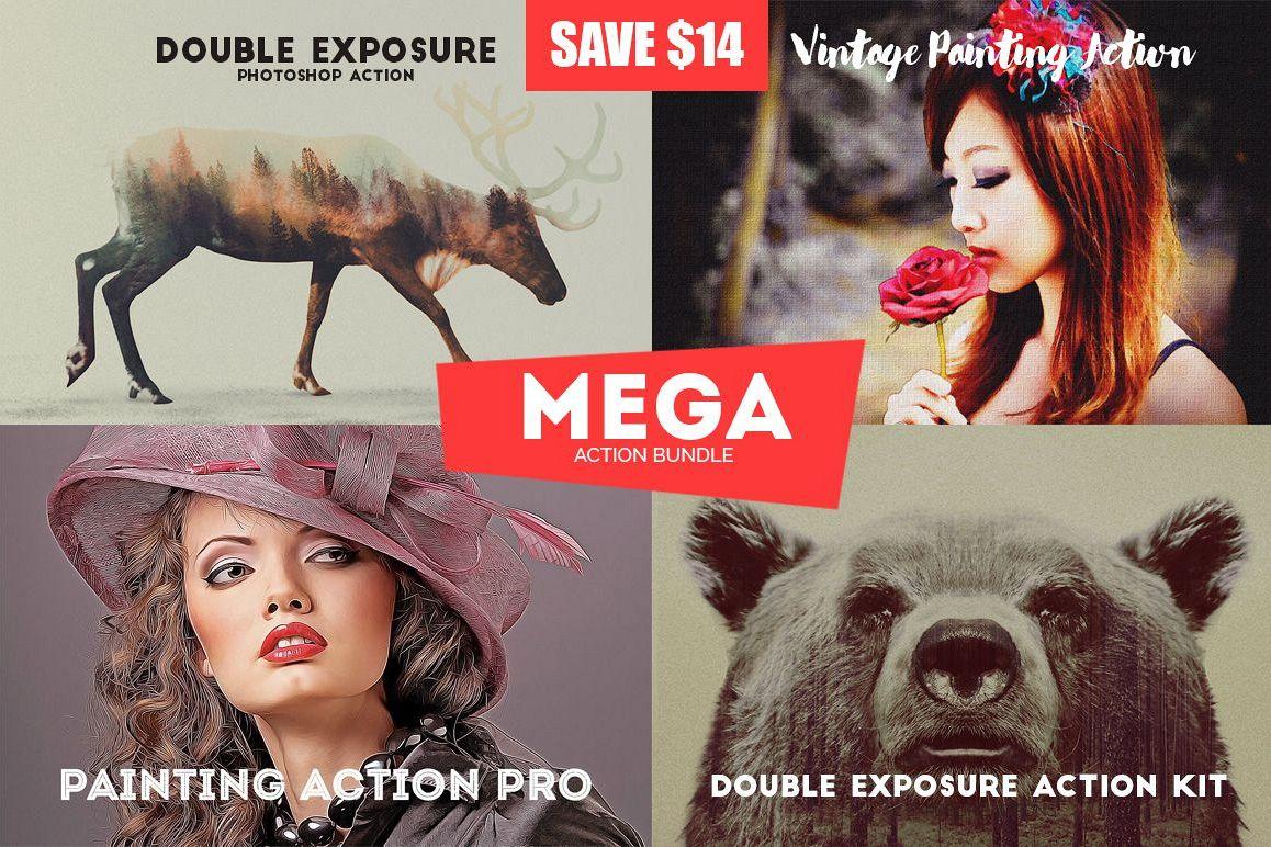 Mega Action Bundle Mini example image 1