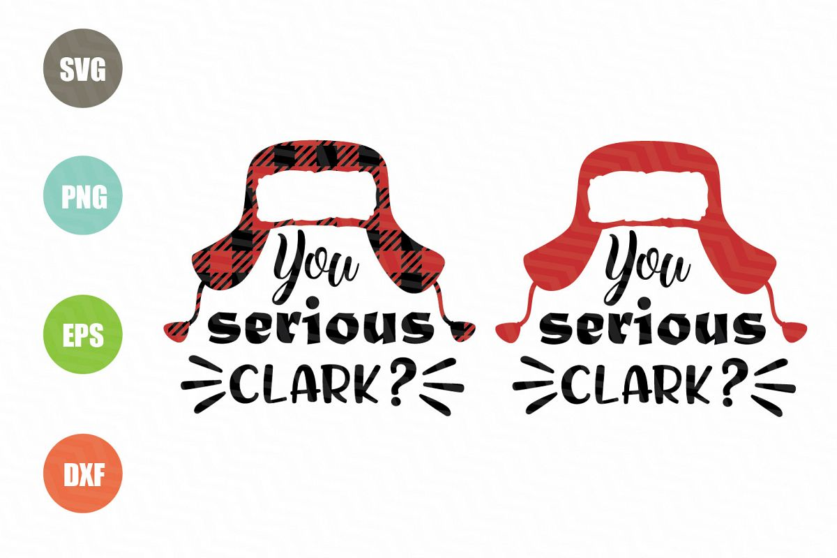 You Serious Clark SVG File example image 1