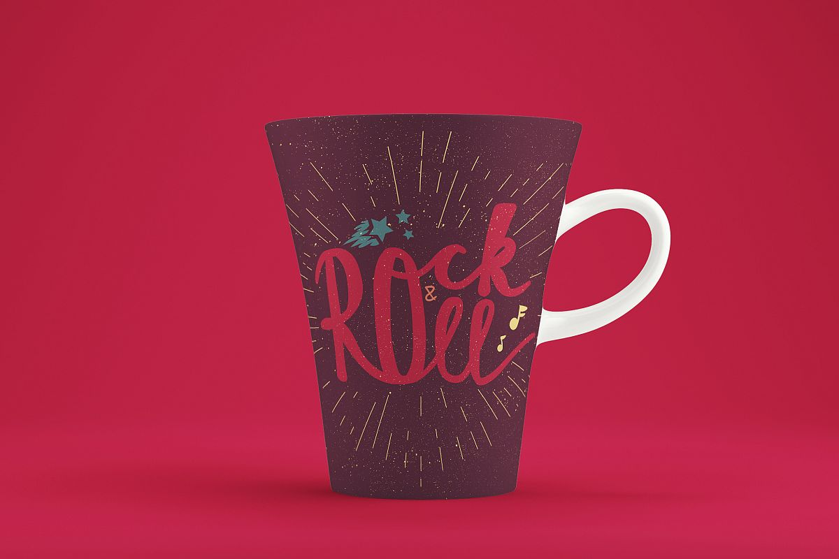 Rock'n'Roll Banner example image 1