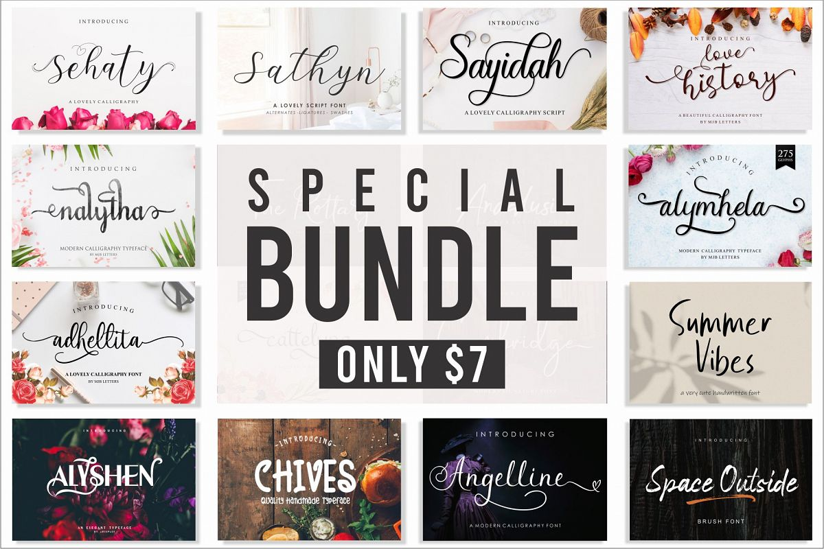 Special Font Bundles example image 1