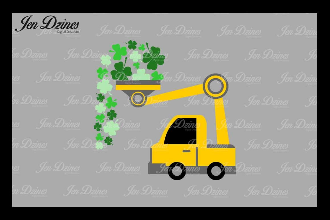 St. Patrick's Day Loads of Luck SVG DXF EPS PNG example image 1