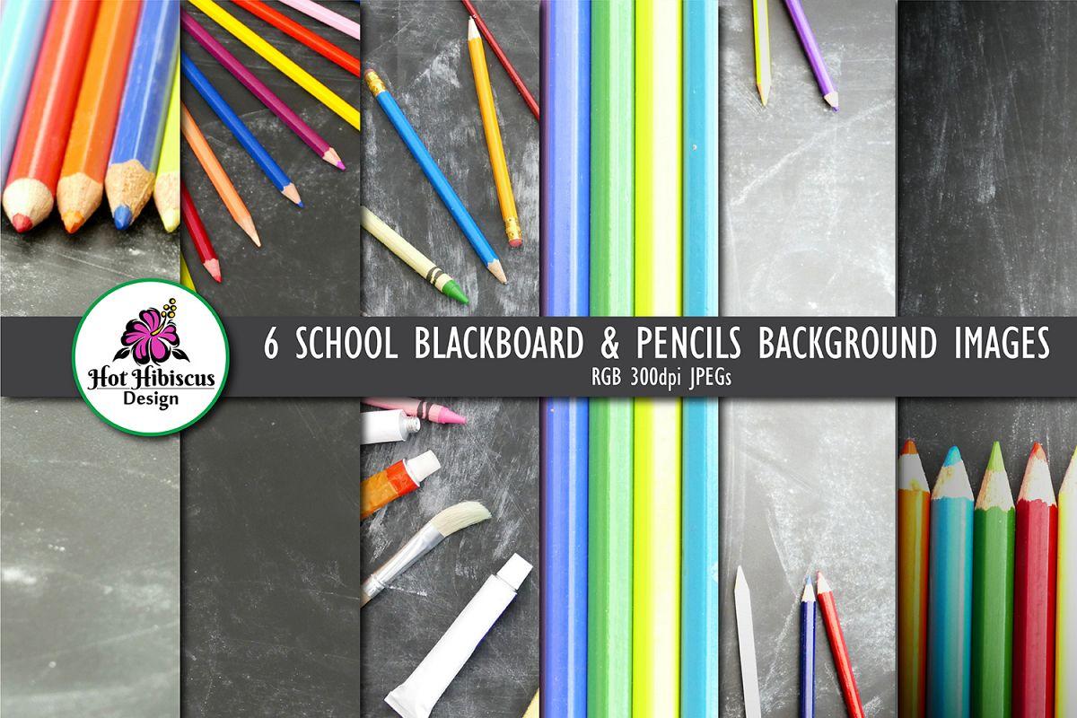 School Classroom Blackboard Chalkboard Backgrounds example image 1
