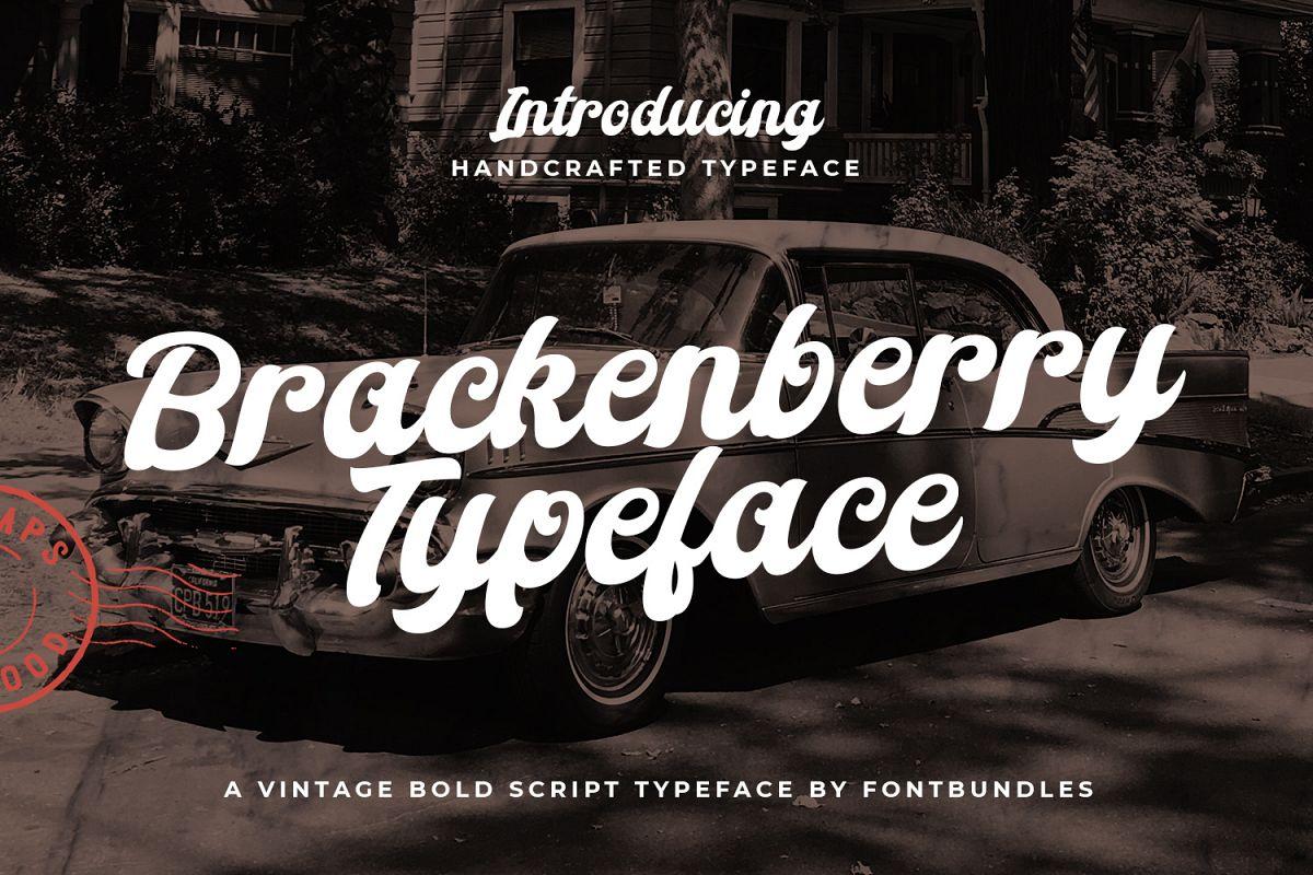 Brackenberry Typeface example image 1