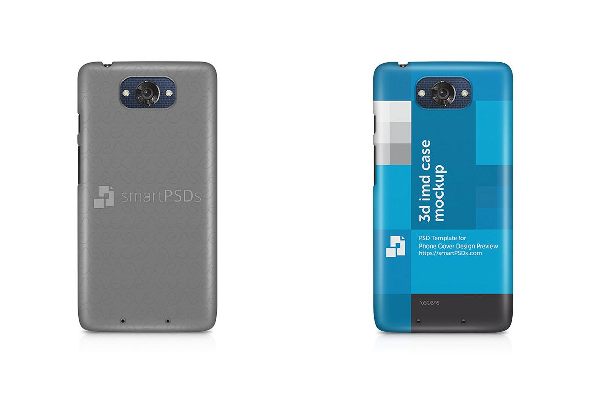Motorola Moto Turbo 3d IMD Mobile Case Design Mockup 2015 example image 1