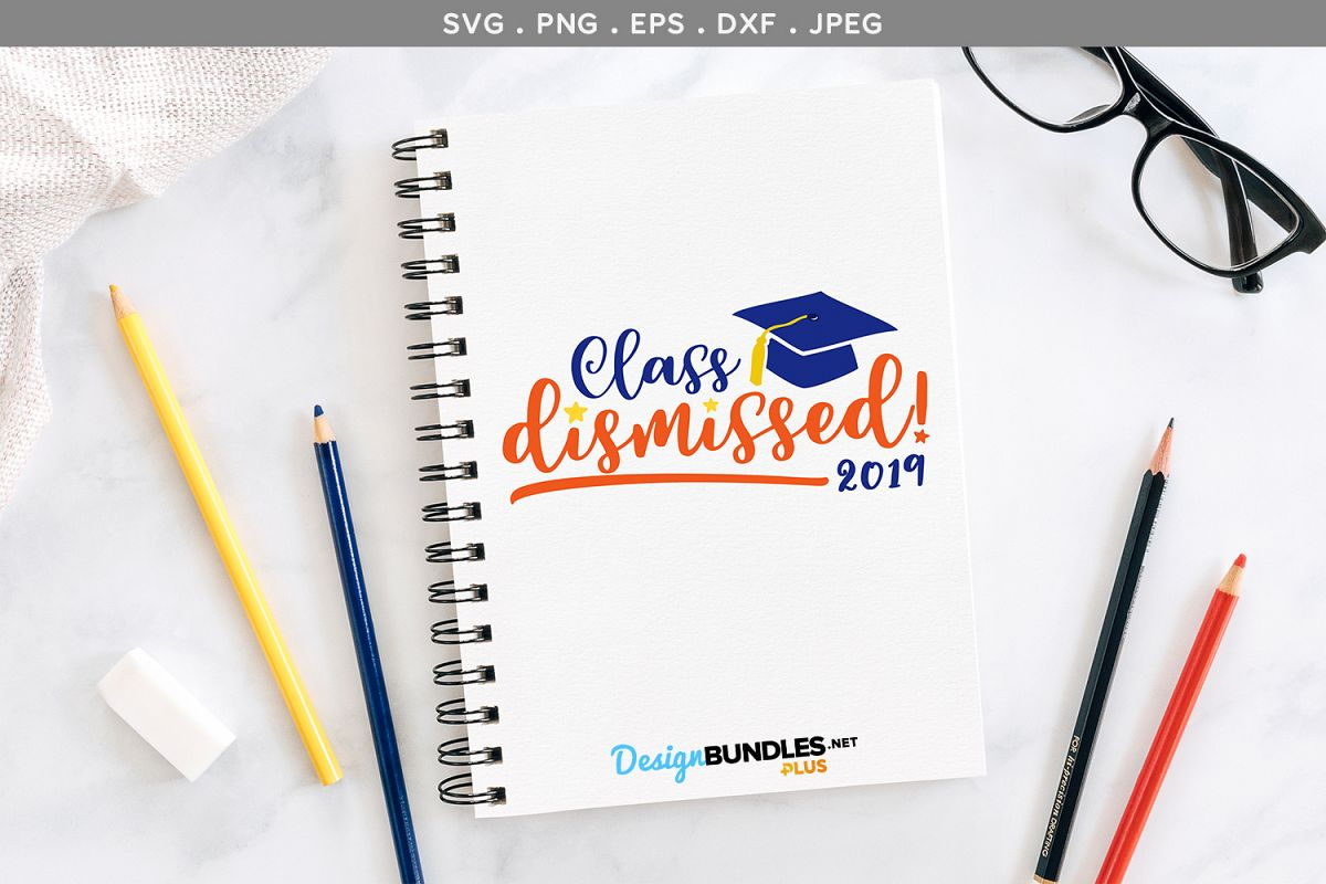 Class Dismissed- svg & printable example image 1