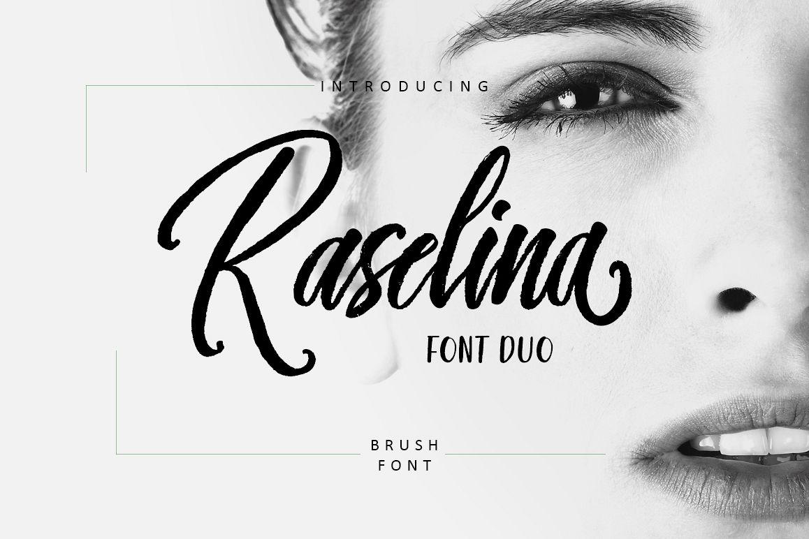 Raselina Font Duo example image 1
