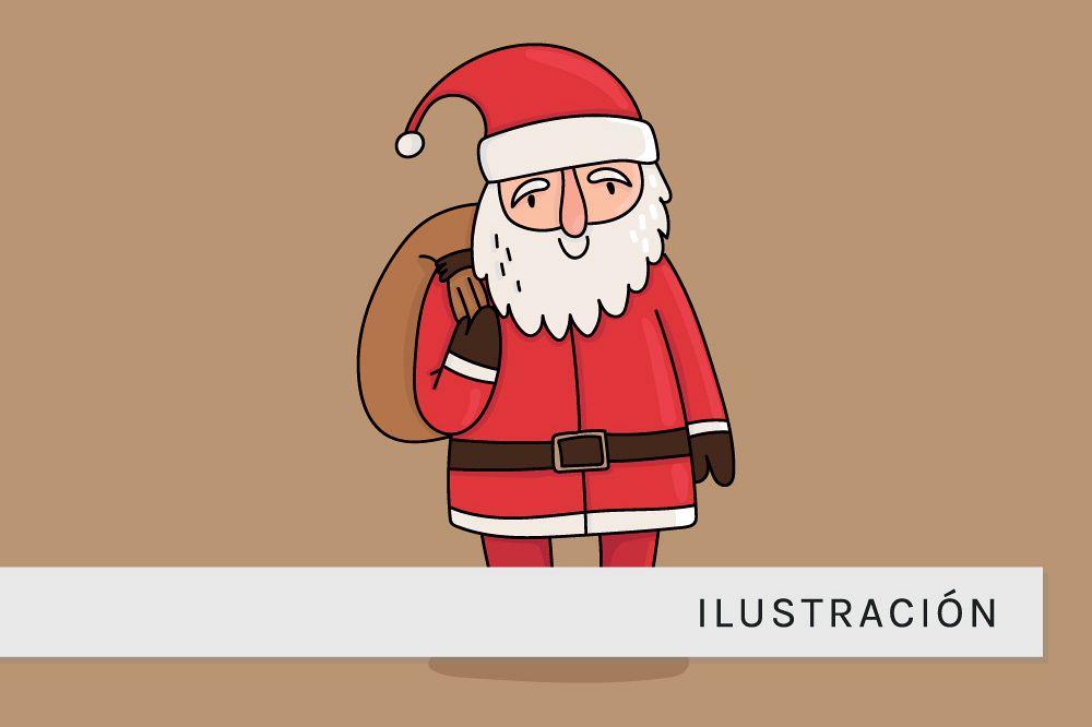Garabato de Papa Noel example image 1