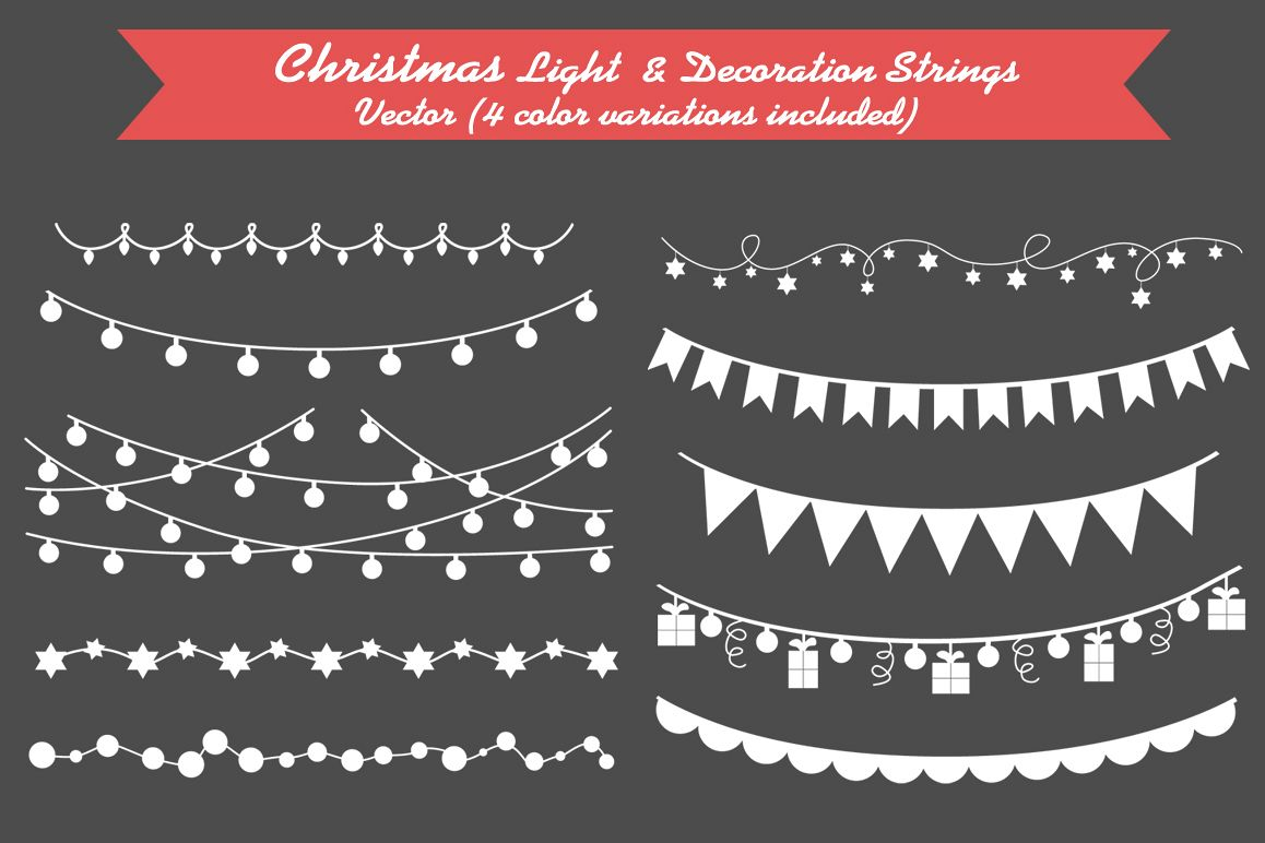 Christmas Light & Decoration strings example image 1