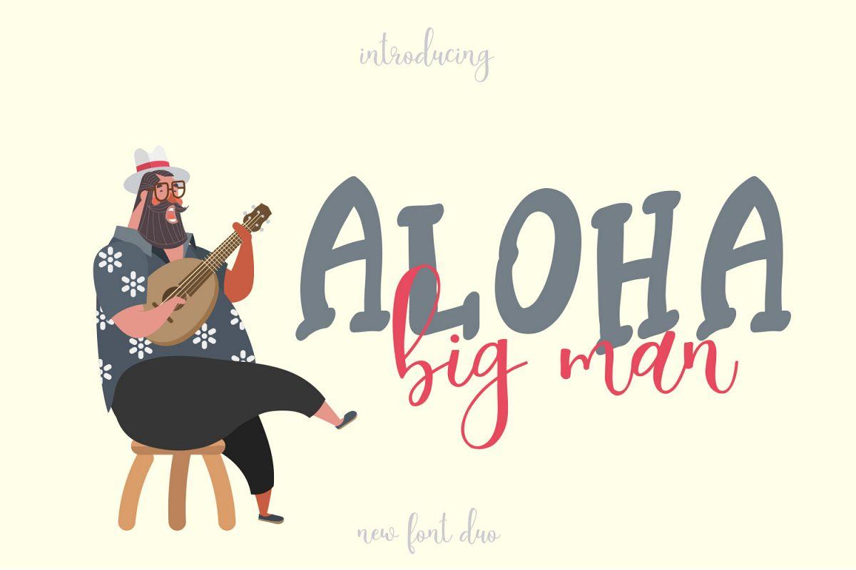 Aloha Big Man example image 1