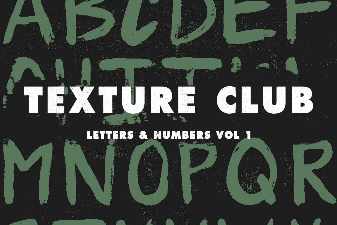 Letters & Numbers Vol 1 example image 1
