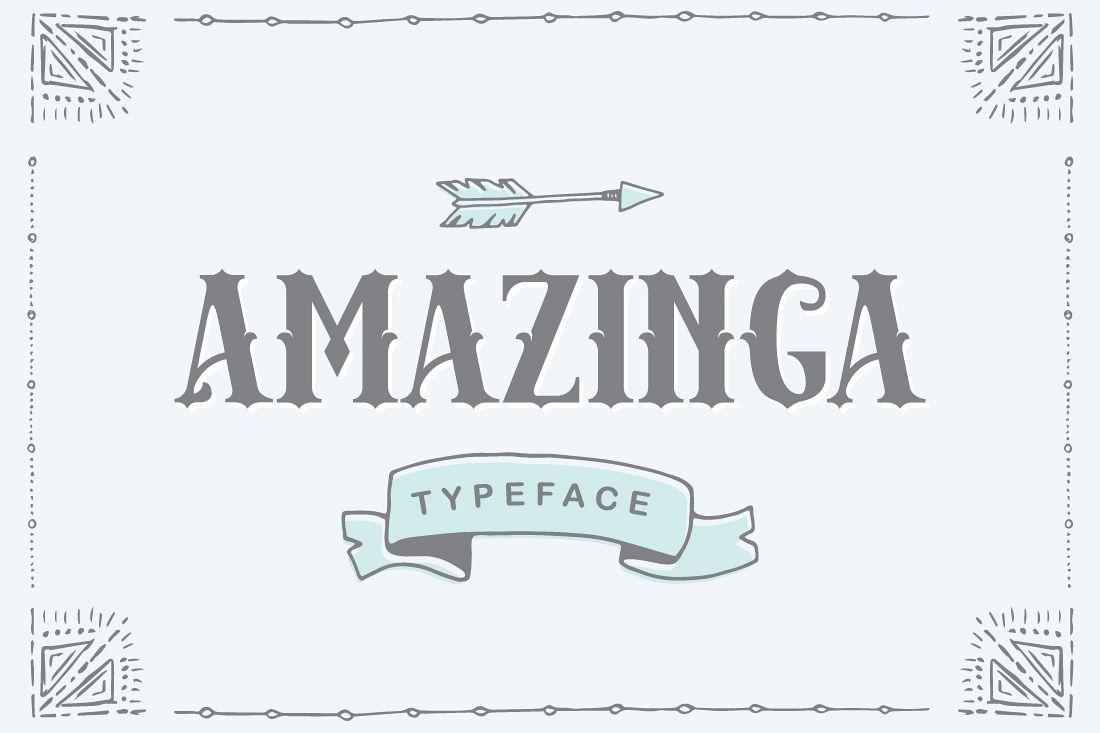 Amazinga Typeface example image 1