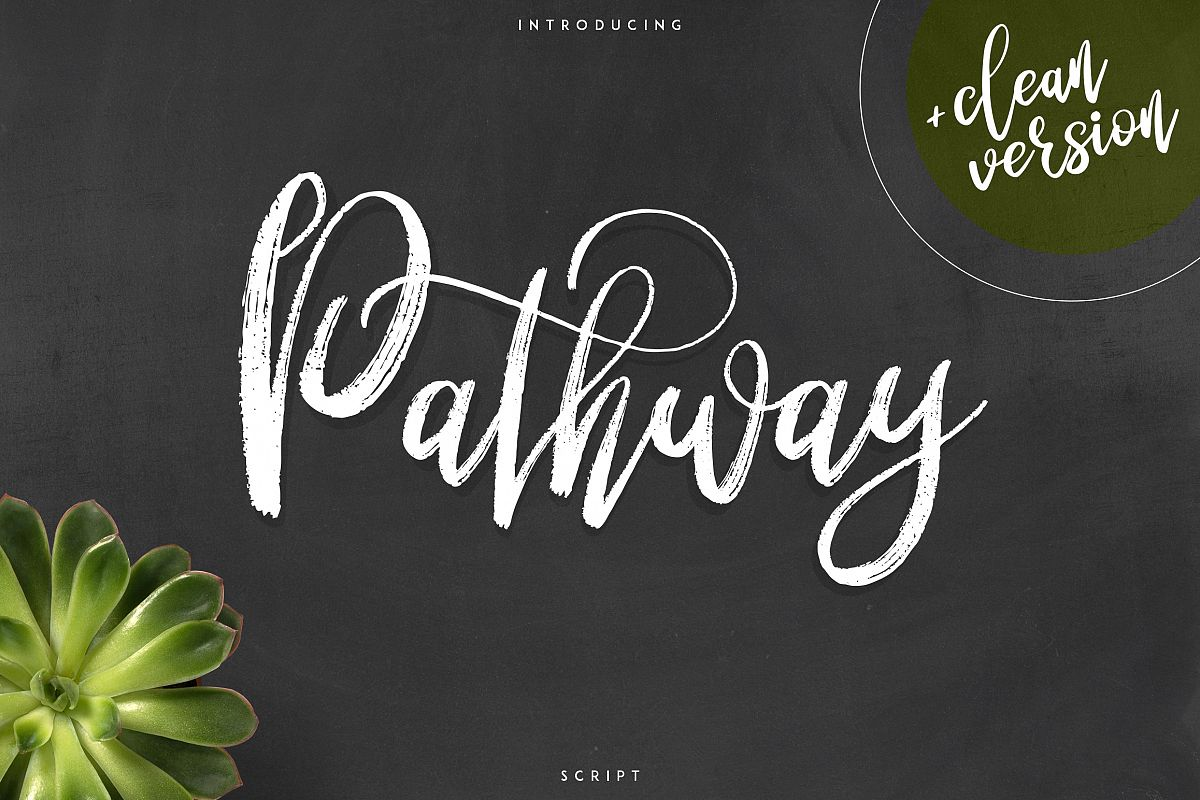 Pathway script - 2 styles example image 1