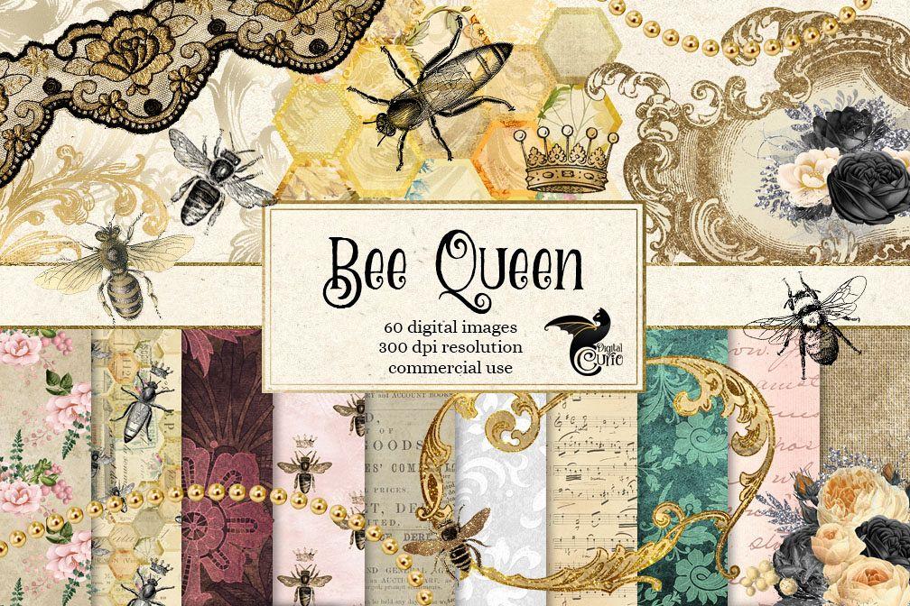 Queen BeeDigital Scrapbooking Kit example image 1