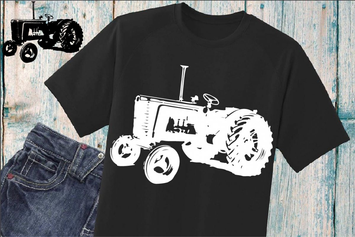 63cc9b9db Farm Tractor SVG Father's Day dad boy 907S example image 1
