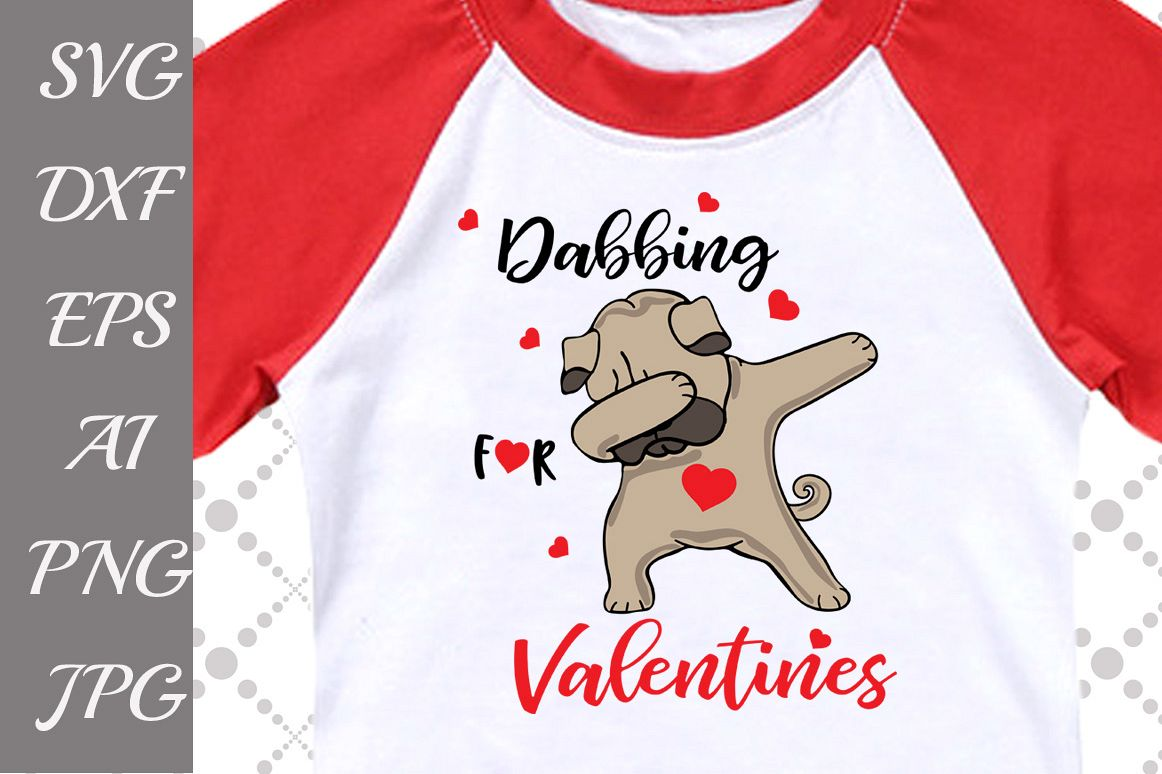 Dab for Valentines Day Svg example image 1