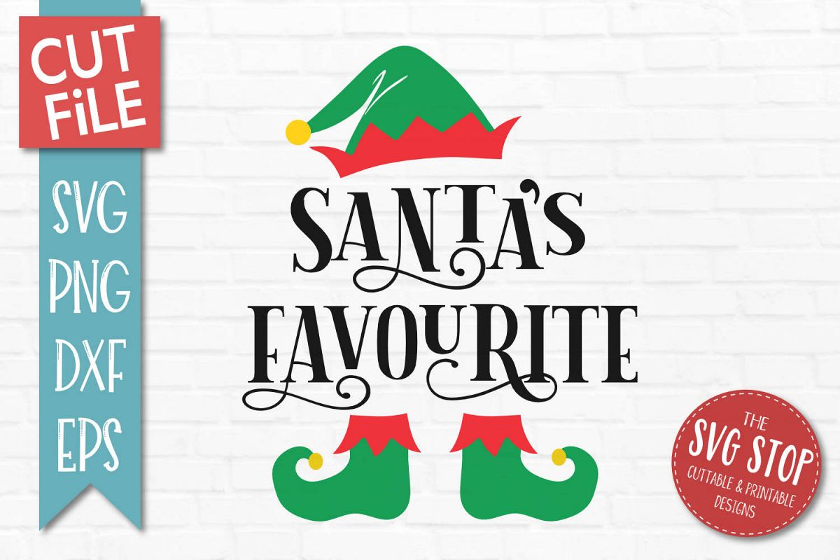 Santas Favourite Svg Png Dxf Eps