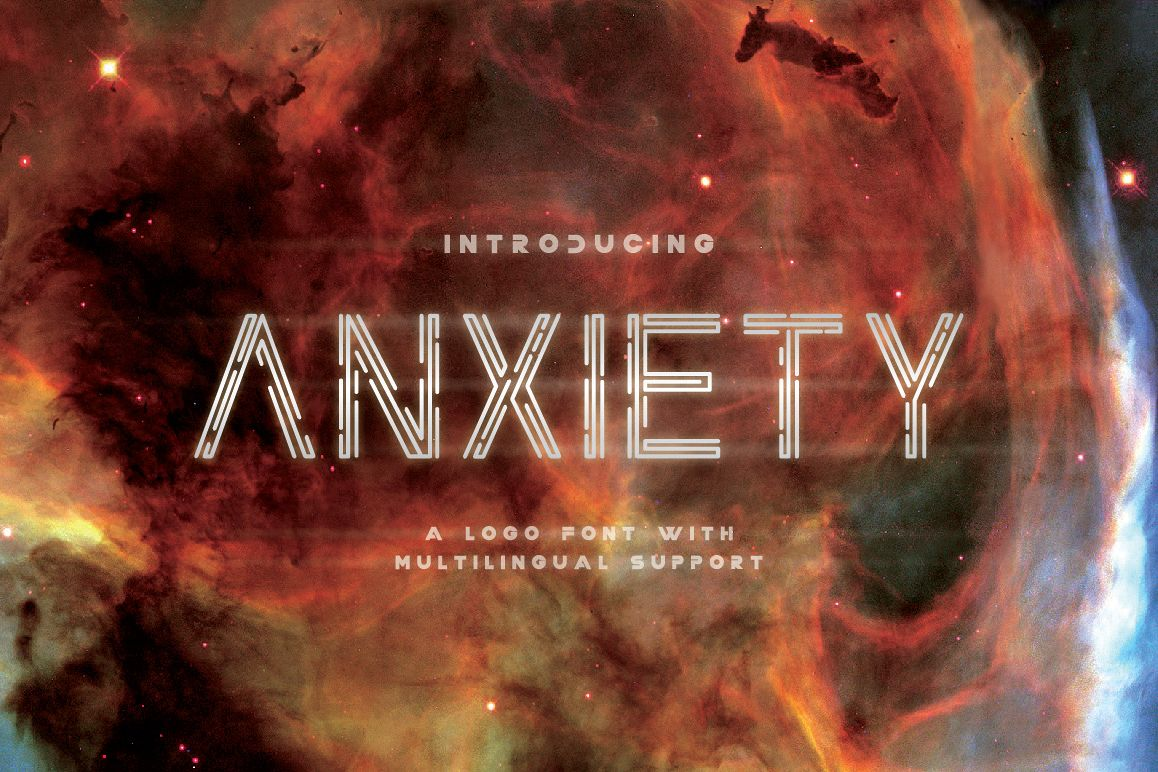 Anxiety Font example image 1