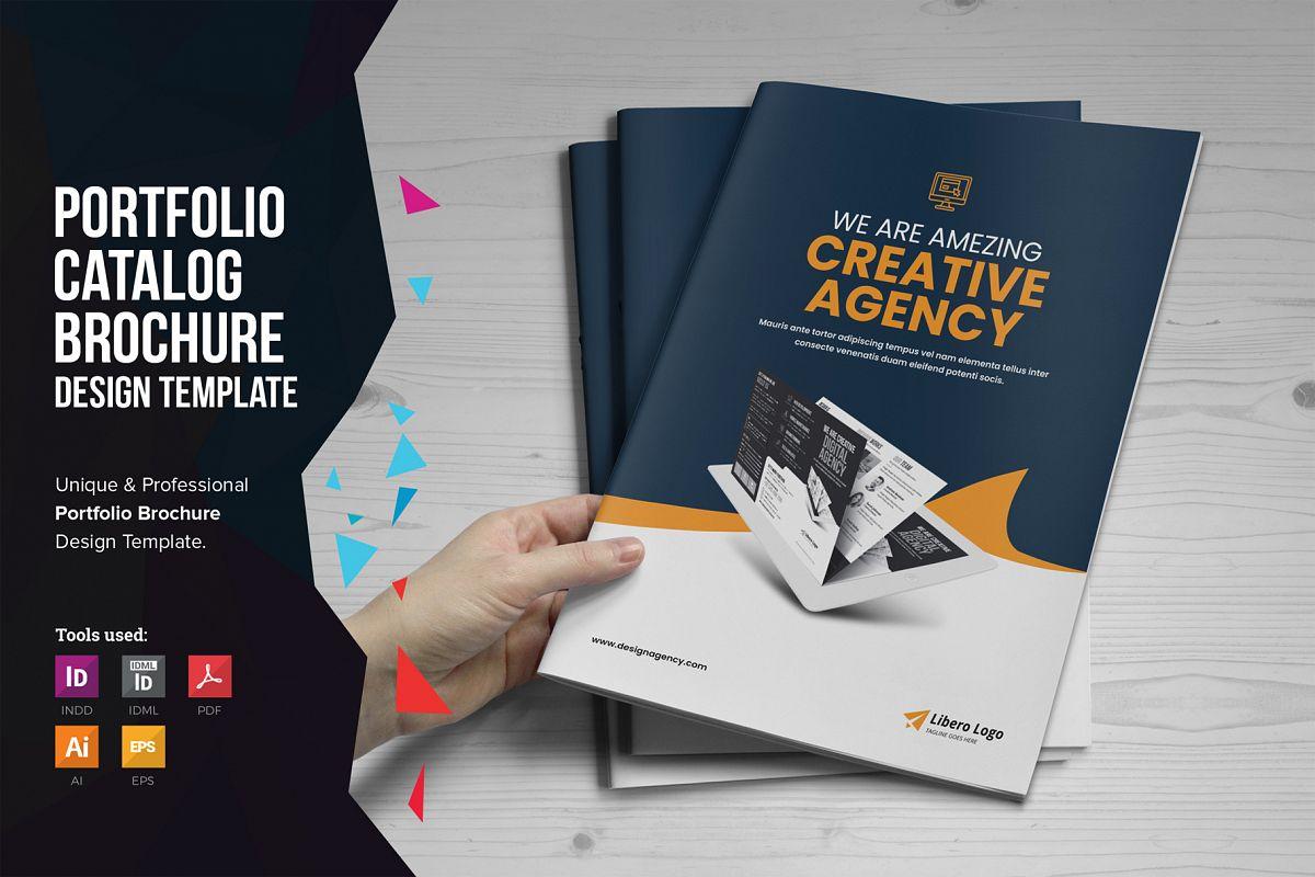 Portfolio Bifold Brochure Design v1 example image 1