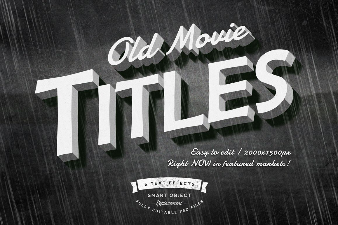 Old Movie Titles example image 1
