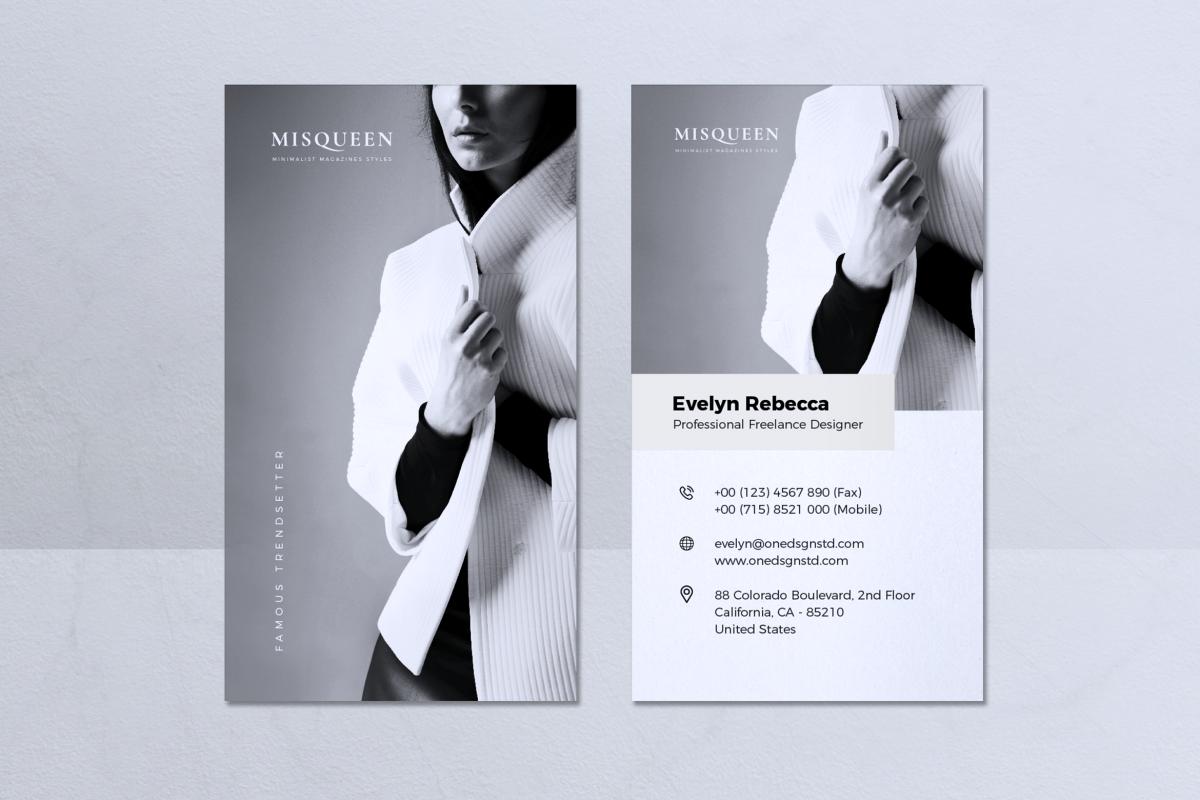 Minimalist Business Card Vol. 08 example image 1