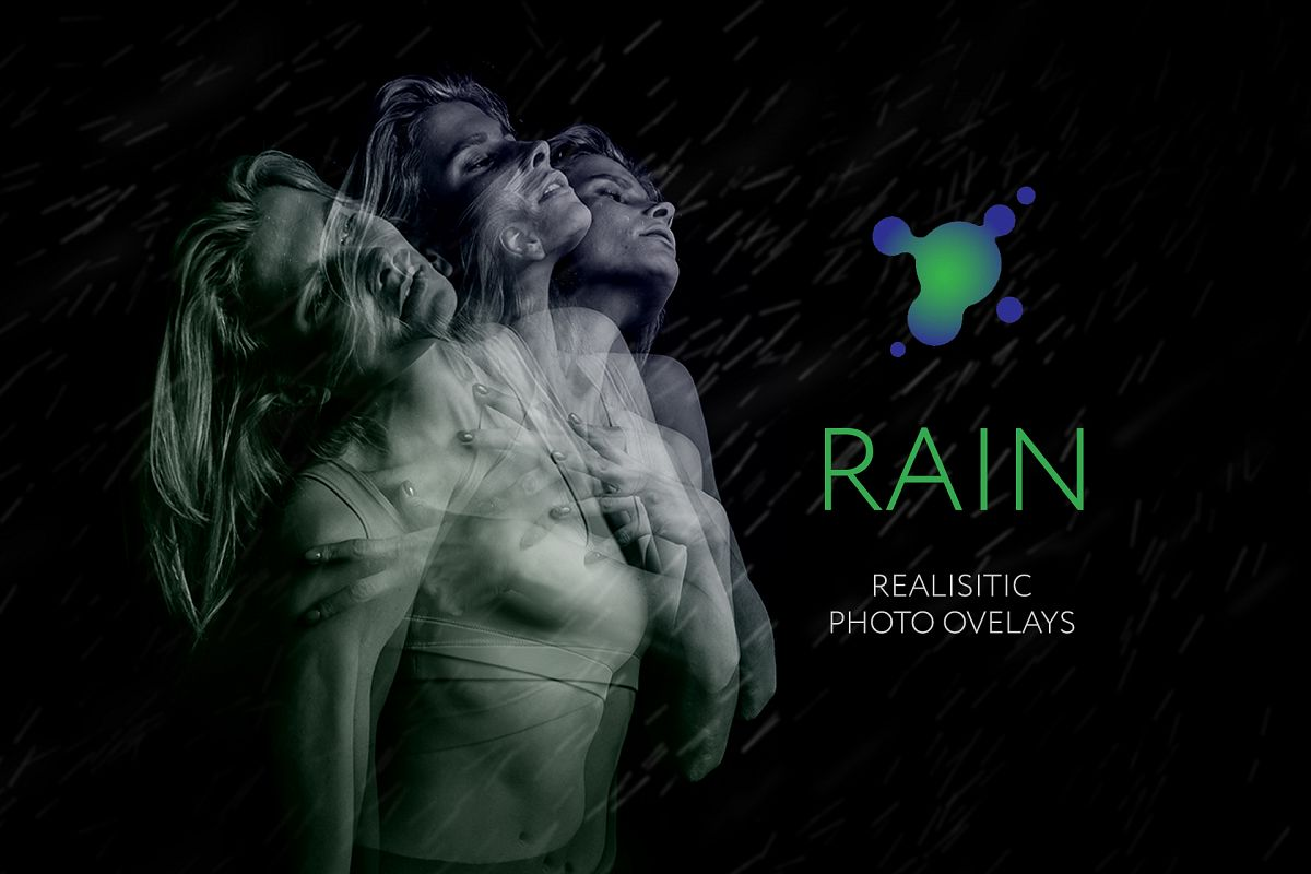45 Rain Photo Overlays example image 1