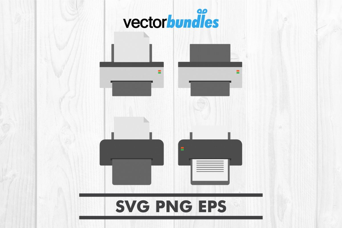 Printer clip art svg example image 1