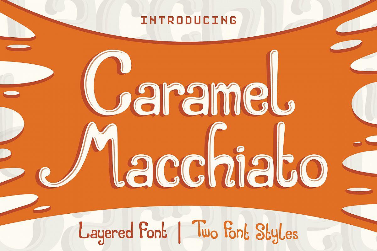 Caramel Macchiato example image 1