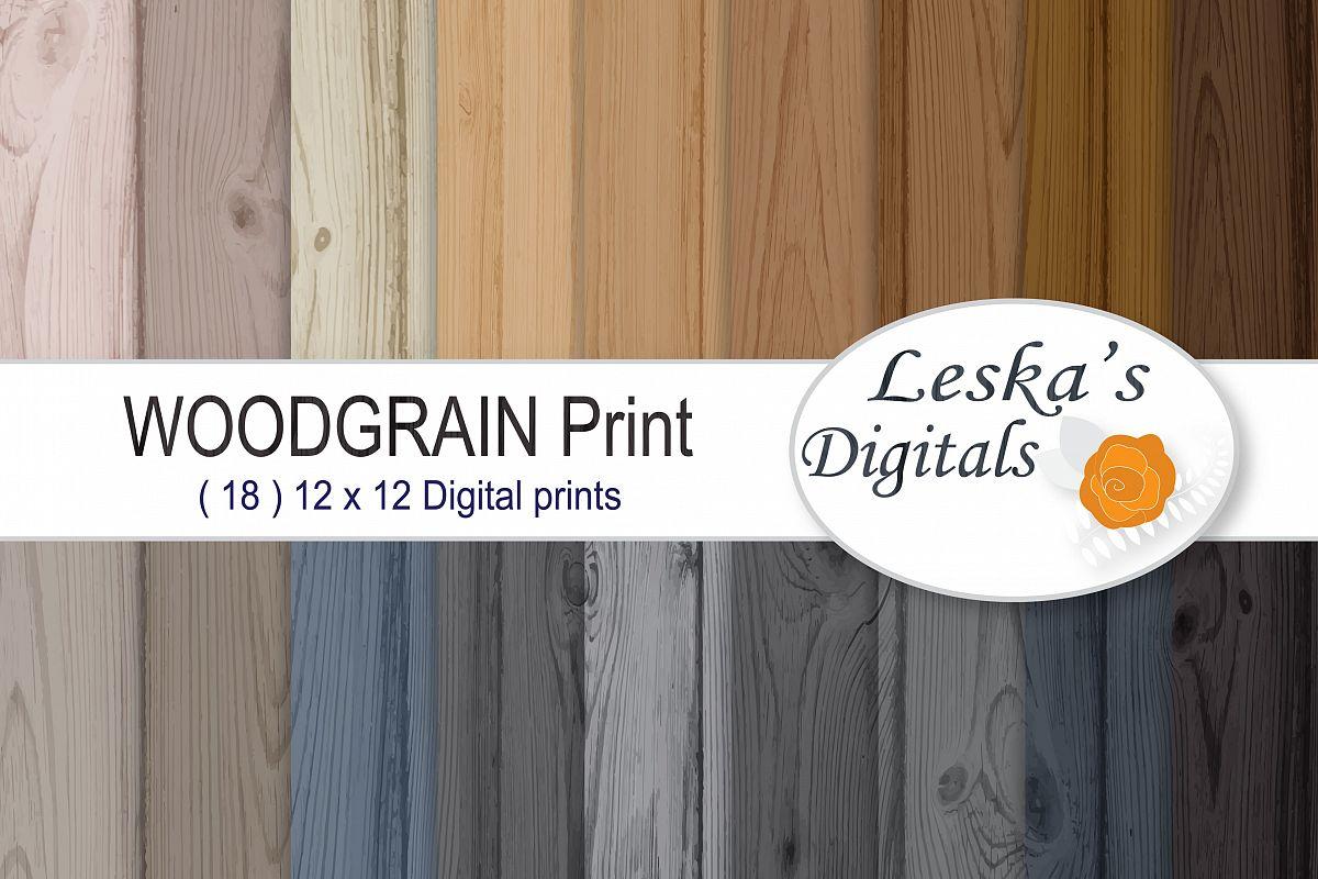 Wood Paper Pack - Woodgrains example image 1