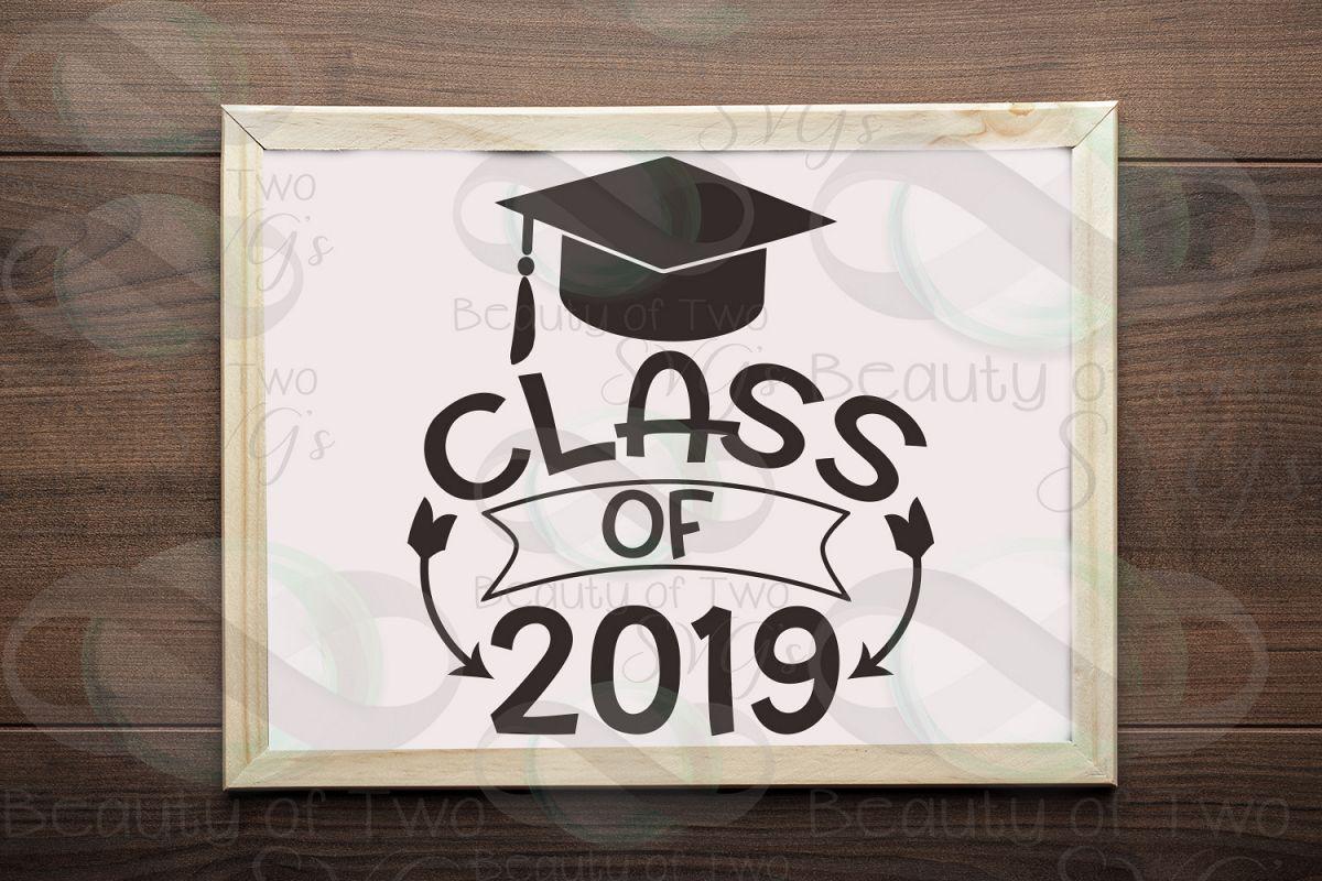 Class of 2019 svg, 2019 Graduate svg, Congrats 2019 grad svg example image 1
