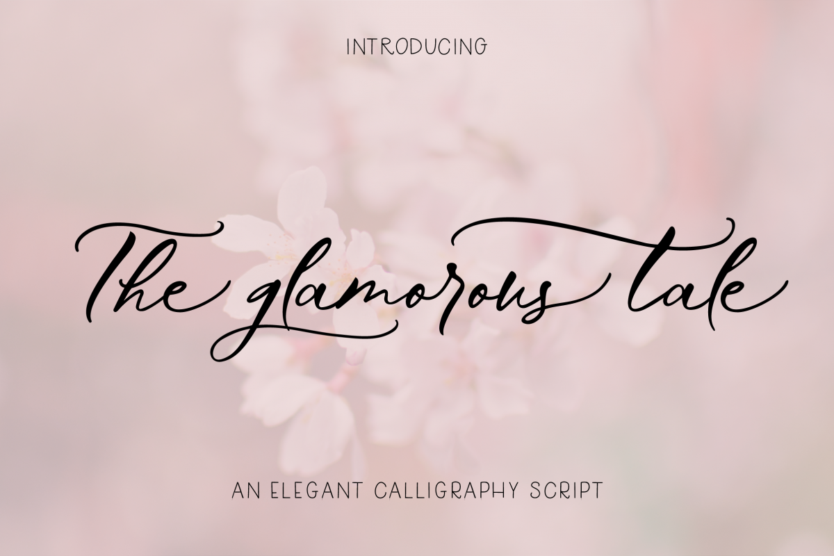 The Glamorous Tale example image 1