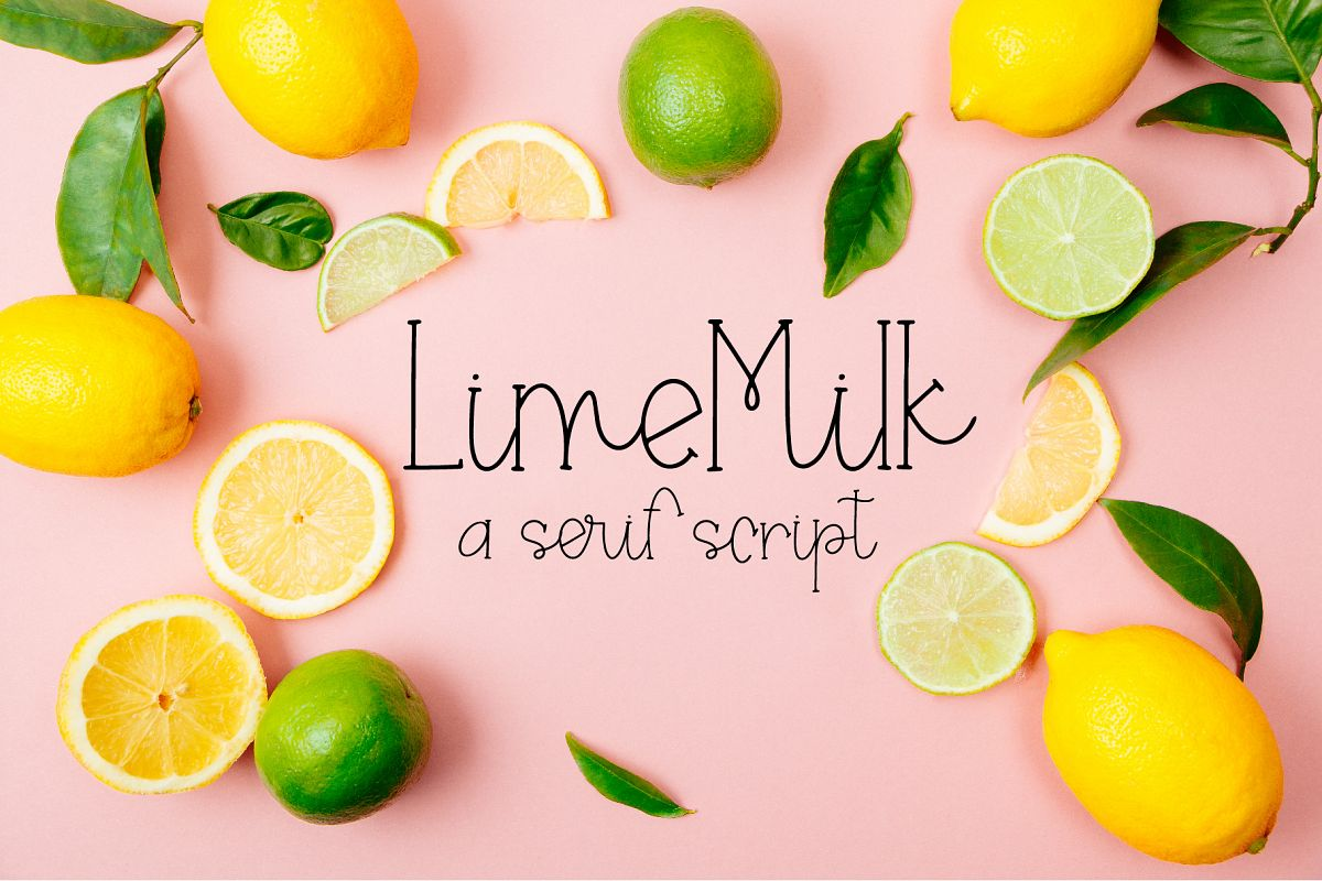 Lime Milk example image 1