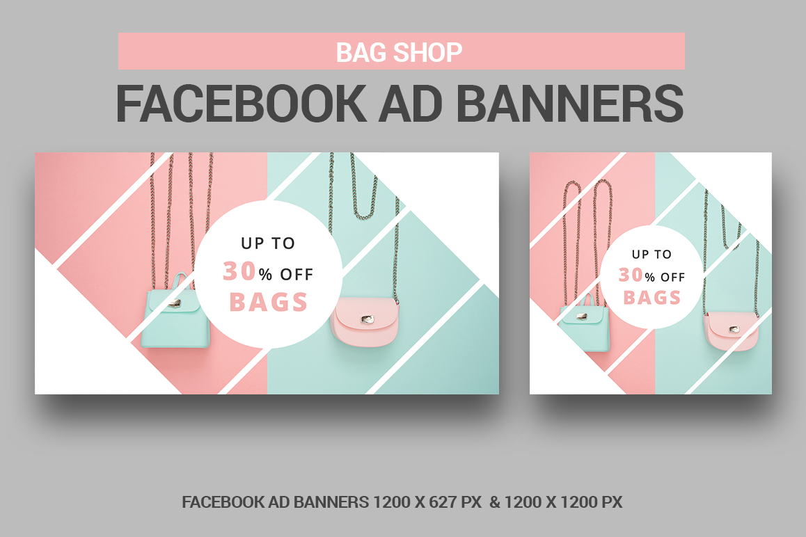 Bag Shop - Facebook Ad example image 1