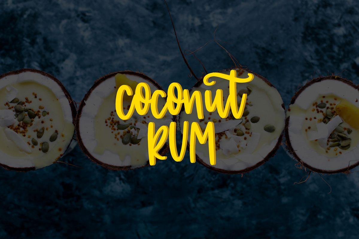 Coconut Rum example image 1
