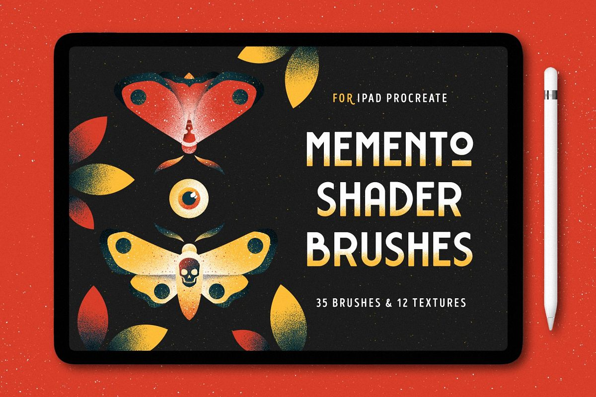 Shader Brushes for Procreate example image 1
