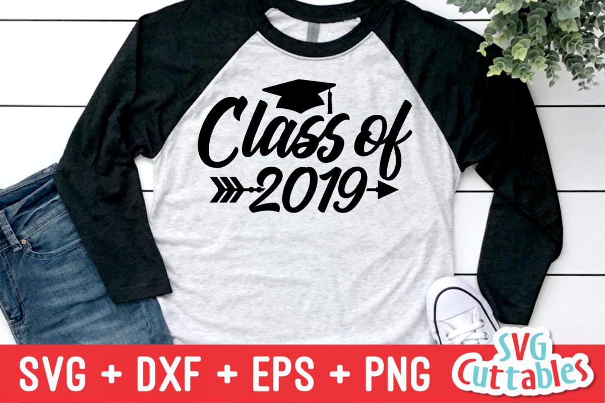 Class Of| Graduation Cut File example image 1