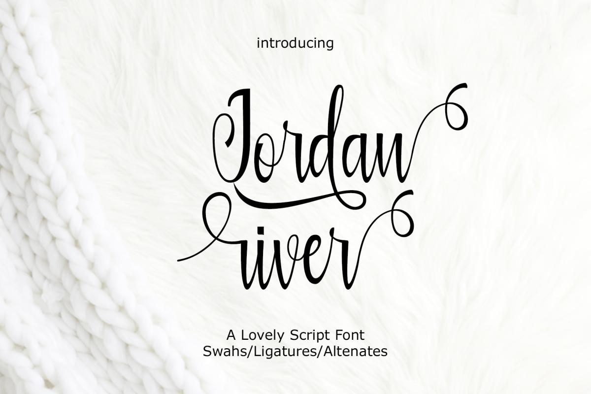 Jordan river example image 1