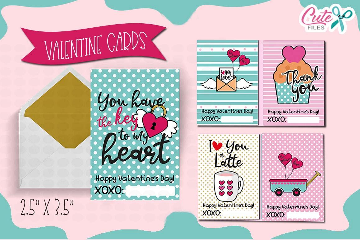 Valentines day Printable cards for your friends example image 1