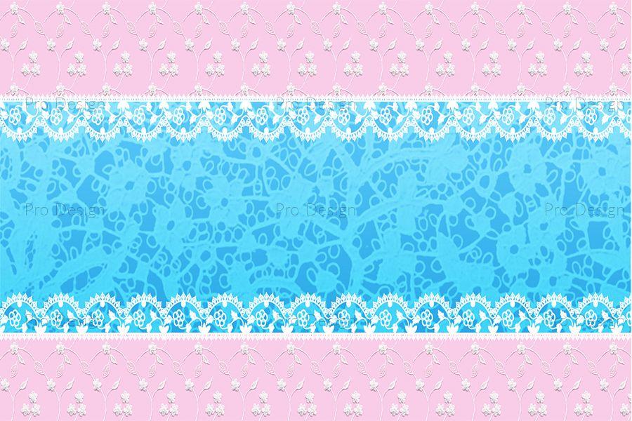 Amazing Lace Flowers Background example image 1