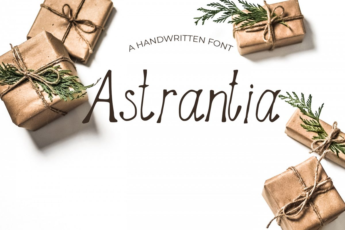 Astrantia Font example image 1